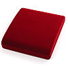 Large Burgundy Velour Set Box