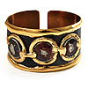 &#039;Triple Circle&#039; Ethnic Cuff Bangle