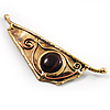 ''Ancient Eye'' Ethnic Brooch