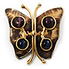 'Ancient Butterfly' Ethnic Brooch