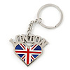 I Love London Keyring/ Bag Charm SOUVENIR - 9cm L
