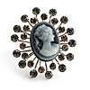 'Classic Lady' Cameo Diamante Ring