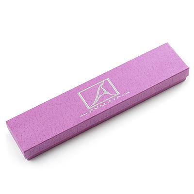 Light Purple Avalaya Gift Box for Bracelets