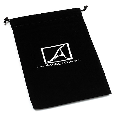 Velour Pouch 105x145 (Black)