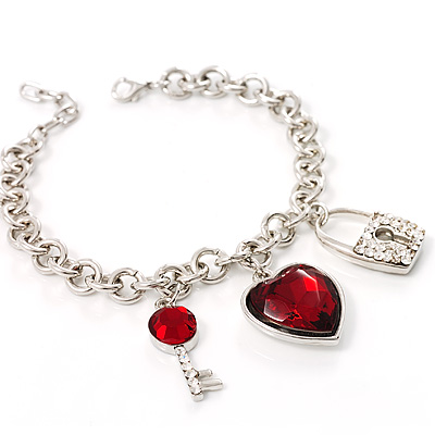 Key To Your Heart Bracelet
