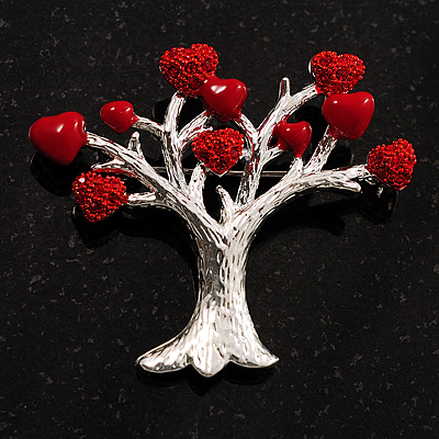 Love Tree Fashion Brooch