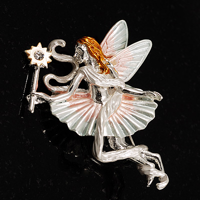 Majestic Fairy Brooch - main view