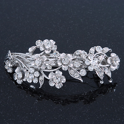 Complete your look with our timeless silver hair clips and western hair barrettes sure to set your look apart and attract compliments. Our western hair accessories always do!