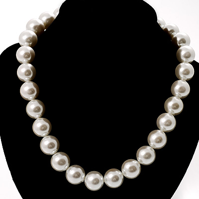 Versatile Pearl Style Necklace
