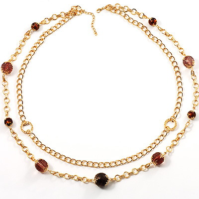 Chic Double Layered Necklace