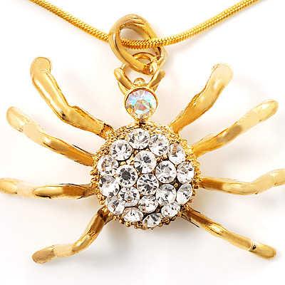 Gold Tarantula Pendant