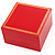 Luxury Red Bracelet / Bangle Jewellery Box - view 1