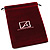 Velour Pouch 130x170 (Burgundy)