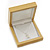 Luxury Wooden Natural Pine Jewellery Presentation Box (Earrings, Pendant, Brooch) - view 5