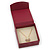 Stylish Cranberry Square Cardboard Gift Box with Magnetic Lid Closure - view 7