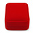 Luxury Red Velour Brooch/ Pendant/ Earring Jewellery Box - view 8
