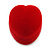 Small Red Velour Heart Ring Jewellery Box - view 7
