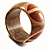 Boho Mod Wooden Bangle  - view 4
