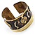 Swirl Pattern Asymmetrical Ethnic Cuff - view 14