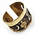 Swirl Pattern Asymmetrical Ethnic Cuff - view 11