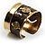 Swirl Pattern Asymmetrical Ethnic Cuff - view 3
