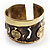 Swirl Pattern Asymmetrical Ethnic Cuff - view 4