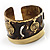 Swirl Pattern Asymmetrical Ethnic Cuff - view 12