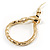 Gold Tone Mesmerized Fashion Snake Bangle Bracelet (18cm) - view 1