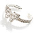Diamante Butterfly Flex Bangle Bracelet - view 9