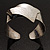 Hammered Stainless Steel Tribal Sail Cuff-Bangle - view 9
