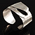 Hammered Stainless Steel Tribal Sail Cuff-Bangle - view 10