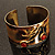 Ethnic Cherry Handmade Cuff Bangle - view 9