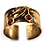 Ethnic Cherry Handmade Cuff Bangle - view 15