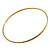 Gold & Silver Tone Slim Textured Metal Bangles - Set of 50Pcs - view 6