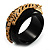 Black Resin Crystal &#039;Tiger&#039; Bangle (Gold Tone) - Catwalk 2012 - view 12