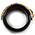 Black Resin Crystal &#039;Tiger&#039; Bangle (Gold Tone) - Catwalk 2012 - view 10