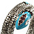 Silver Plated Diamante Snake Flex Bangle Bracelet - view 4