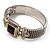 Two Tone Mesh Hinged Bangle Bracelet - view 11