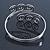 Greek Style Twirl Upper Arm, Armlet Bracelet In Silver Plating - Adjustable - view 7