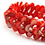 Coral Shell Stretch Bracelet - view 4