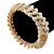 Antique White Shell Stretch Bracelet