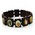 Stretch Wooden Saints Bracelet / Jesus Bracelet / All Saints Bracelet - Up to 20cm Length