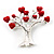 Love Tree Fashion Brooch - view 2