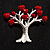 Love Tree Fashion Brooch - view 5