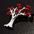 Love Tree Fashion Brooch - view 7
