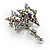 Pair of Stars and Flower Crystal Set Of 2 Brooches - view 11