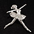 'Dancing Ballerina' Fashion Brooch - view 7