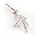 Swarovski Crystal Magic Fairy Brooch (Pink&Clear) - view 5