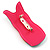 Funky 'Mr Wiggly' Multicoloured Plastic Brooch - view 5