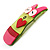 Funky 'Mr Wiggly' Multicoloured Plastic Brooch - view 3